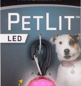 Nite Ize Nite Ize PetLit LED Collar Light Jewel Pink