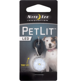 Nite Ize Nite Ize PetLit LED Collar Light Jewel Crystal