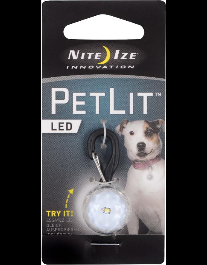 Nite Ize Nite Ize PetLit LED Collar Light Jewel Crystal
