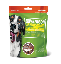 Petcurean Dog Jerky Treats Venison Spike Jerky 3.5 oz