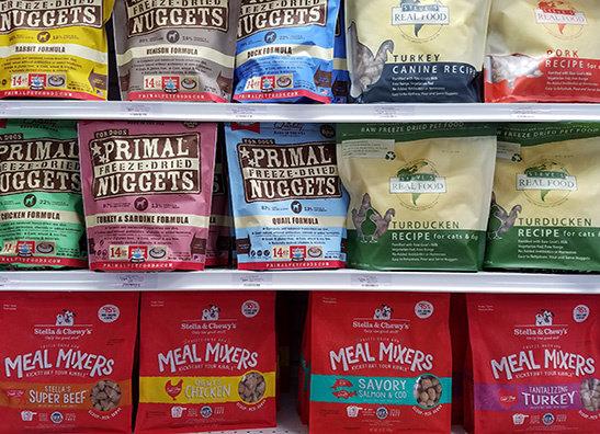 Raw Non-Frozen Pet Food