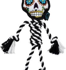 Go Dog Chew Sugar Skull Rope White- Large