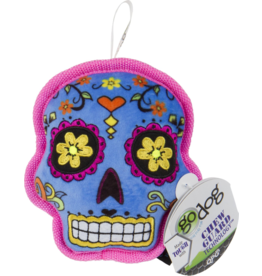 Go Dog Sugar Skull Chew Yellow- Small