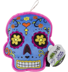 Go Dog Sugar Skull Chew Blue- Large