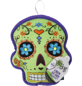 Go Dog Sugar Skull Chew Green- Large