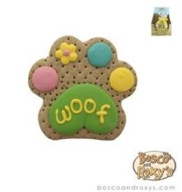 "Bosco and Roxy's Bosco and Roxy's Peeps Sake 4"" Woof Paw single"