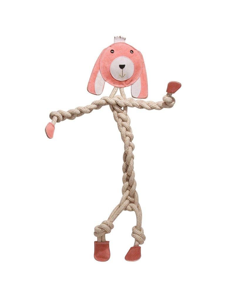 HuggleHounds Huggle Hounds Toys Bunny Rope Knottie Regular