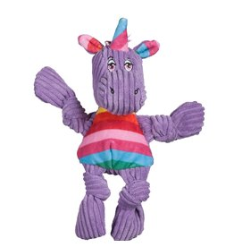 HuggleHounds HuggleHounds Toys Rainbow Unicorn Knottie Extra Small (XS)/Wee