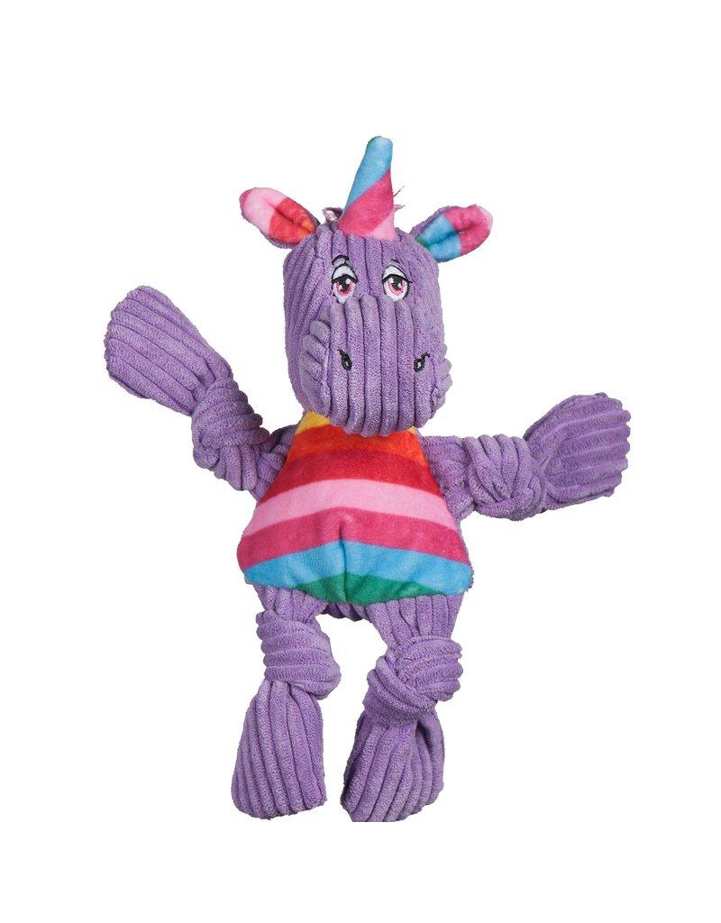 HuggleHounds HuggleHounds Toys Rainbow Unicorn Knottie Extra Small (XS)/Wee