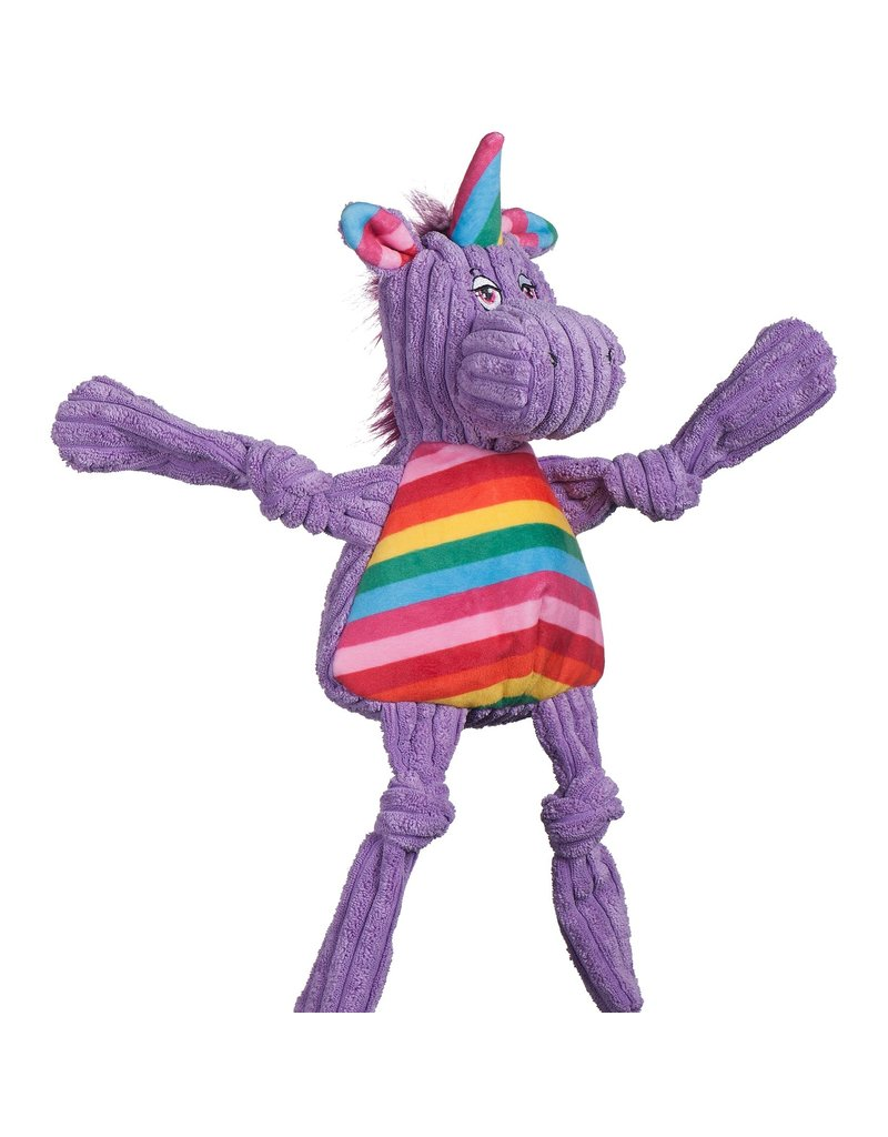 HuggleHounds Huggle Hounds Toys Rainbow Unicorn Knottie Small