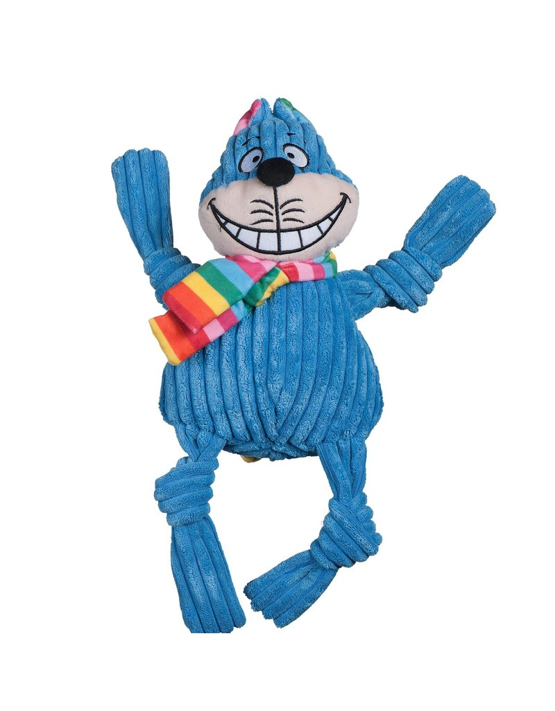 HuggleHounds HuggleHounds Toys Rainbow Cheshire Cat Knottie Small