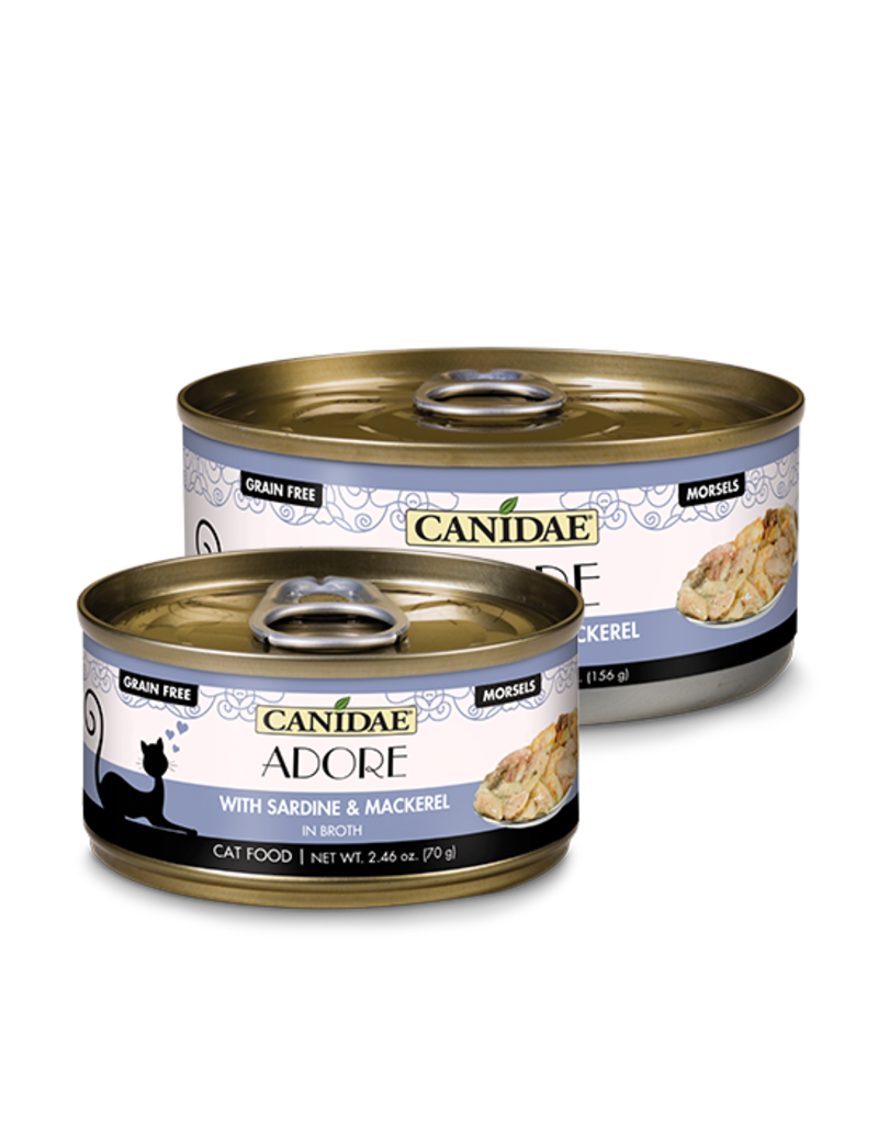 Canidae Canidae GF Pure Adore Canned Cat Food Sardine & Mackerel in Broth 2.46 oz single