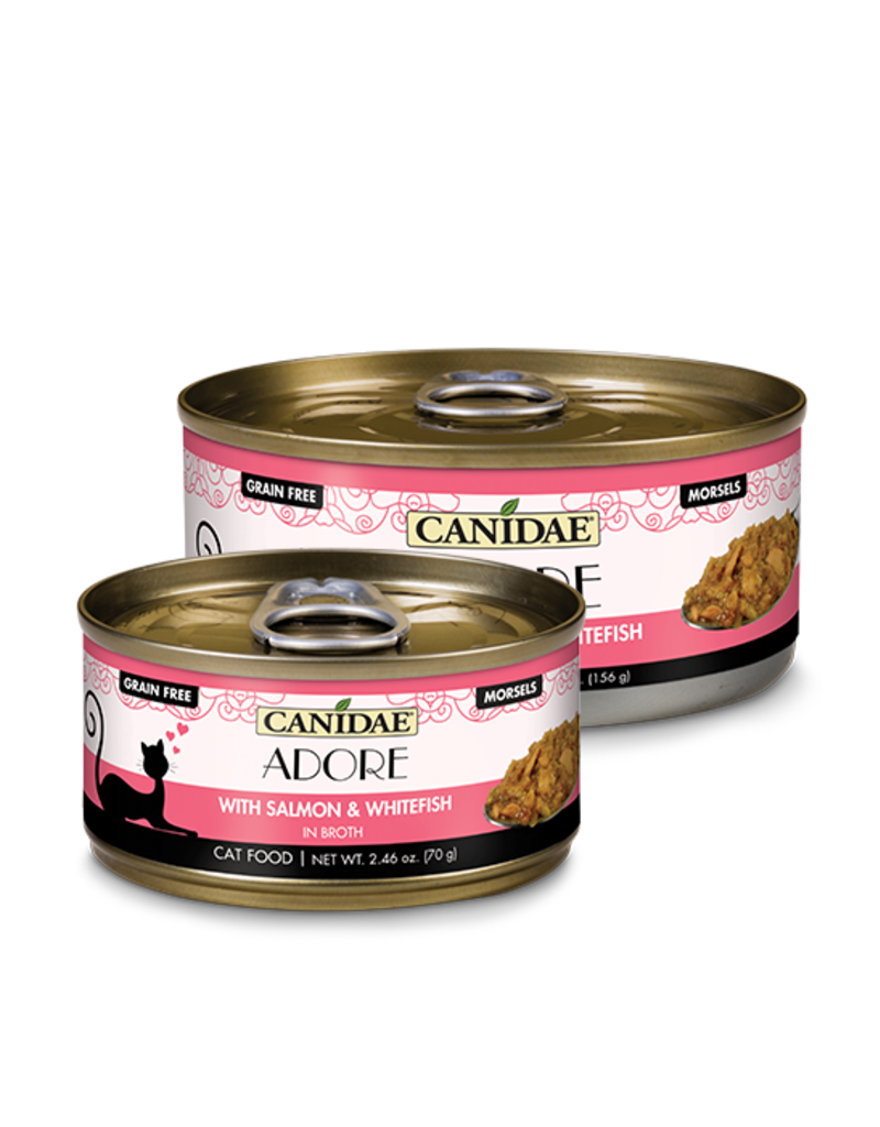 Canidae Canidae GF Pure Adore Canned Cat Food Salmon & Whitefish in Broth 5.5 oz single