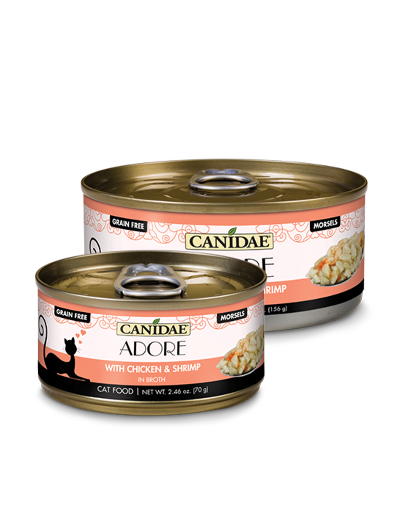 Canidae Canidae GF Pure Adore Canned Cat Food Chicken & Shrimp in Broth 2.46 oz single