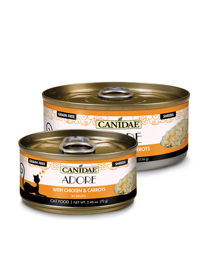 Canidae Canidae GF Pure Adore Canned Cat Food Chicken & Carrots in Broth 5.5 oz single