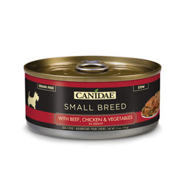 Canidae Canidae Small Breed Stew Canned Dog Food | Beef, Chicken & Vegetables in Gravy 5.5 oz single