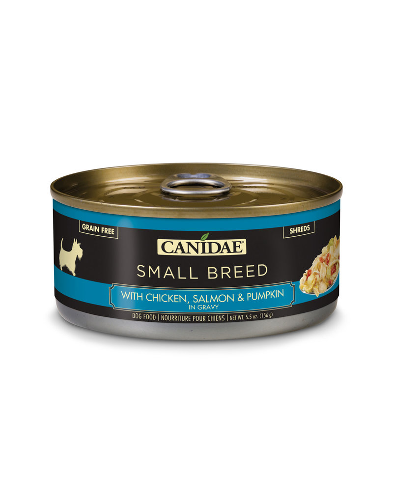 Canidae Canidae Small Breed Shreds Canned Dog Food | Chicken, Salmon & Pumpkin in Gravy 5.5 oz single