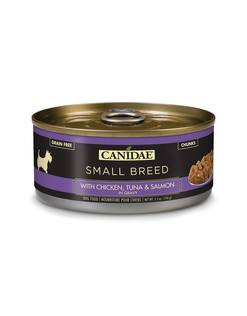 Canidae Canidae Small Breed Chunks Canned Dog Food | Chicken, Tuna & Salmon in Gravy 5.5 oz single