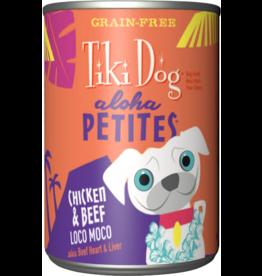 Tiki Dog Aloha Petites Canned Dog Food Loco Moco 9 oz single