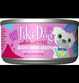 Tiki Dog Aloha Petites Canned Dog Food Okakopa 3.5 oz single