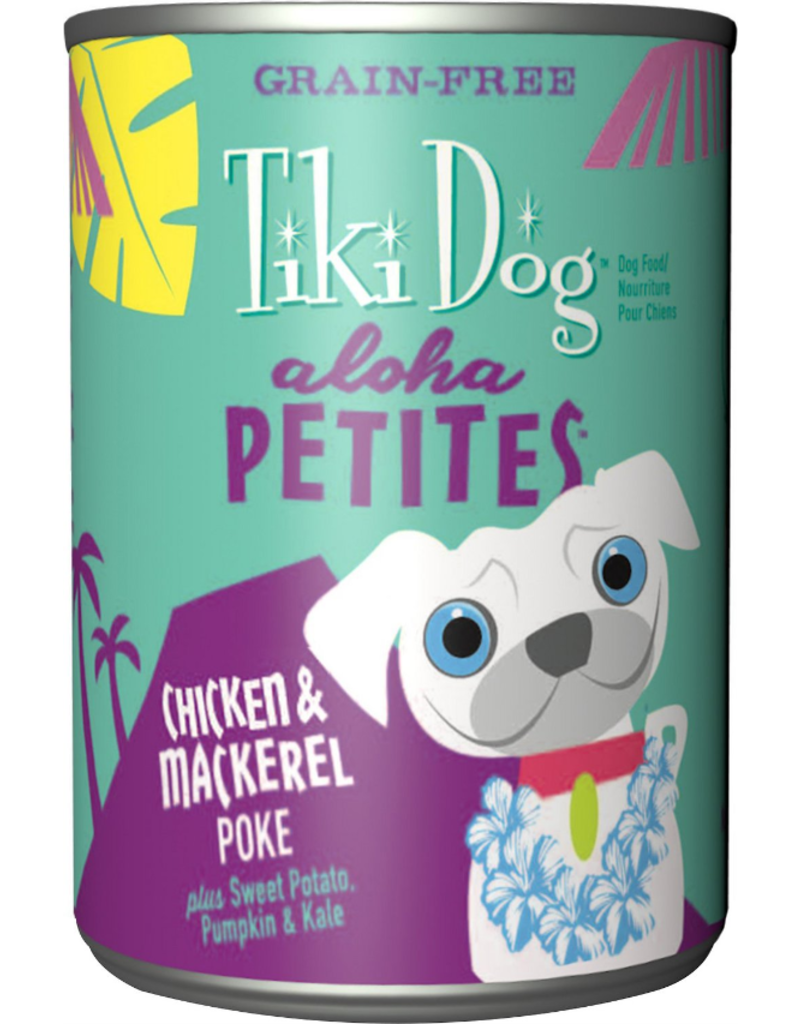 Tiki Dog Aloha Petites Canned Dog Food Poke 9 oz single