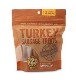 "Happy Howie's Happy Howie's Dog Treats Baker's Dozen 4"" Turkey Sausage 10 oz"