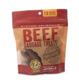 """Happy Howie's Happy Howie's Dog Treats Baker's Dozen 4"""" Beef Sausage 9 oz"""
