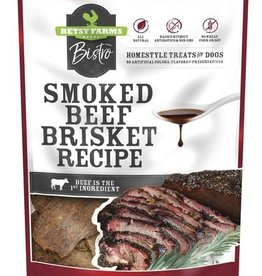 Betsy Farms Betsy Farms Bistro Dog Treats Smoked Beef Brisket 8 oz