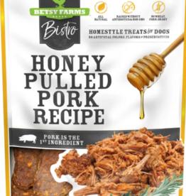 Betsy Farms Betsy Farms Bistro Dog Treats Honey Pulled Pork 8 oz