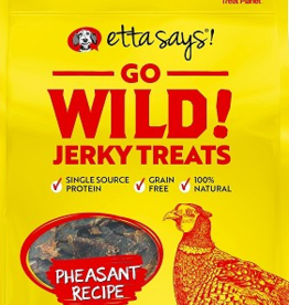 Etta Says Etta Says Go Wild! Jerky Dog Treats Pheasant 5 oz