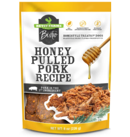 Betsy Farms Betsy Farms Bistro Dog Treats Honey Pulled Pork 3 oz
