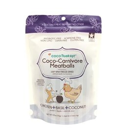 CoCo Therapy Coco Therapy Dog Treats | Carnivore Meatballs Chicken 2.5 oz