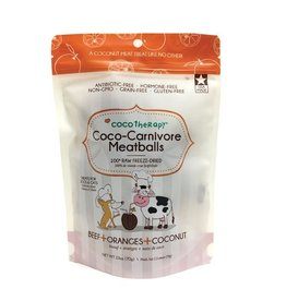 CoCo Therapy Coco Therapy Dog Treats Carnivore Meatballs Beef 2.5 oz