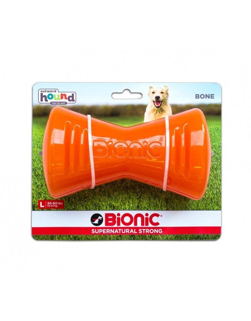 Outward Hound Bionic Bone Large Orange