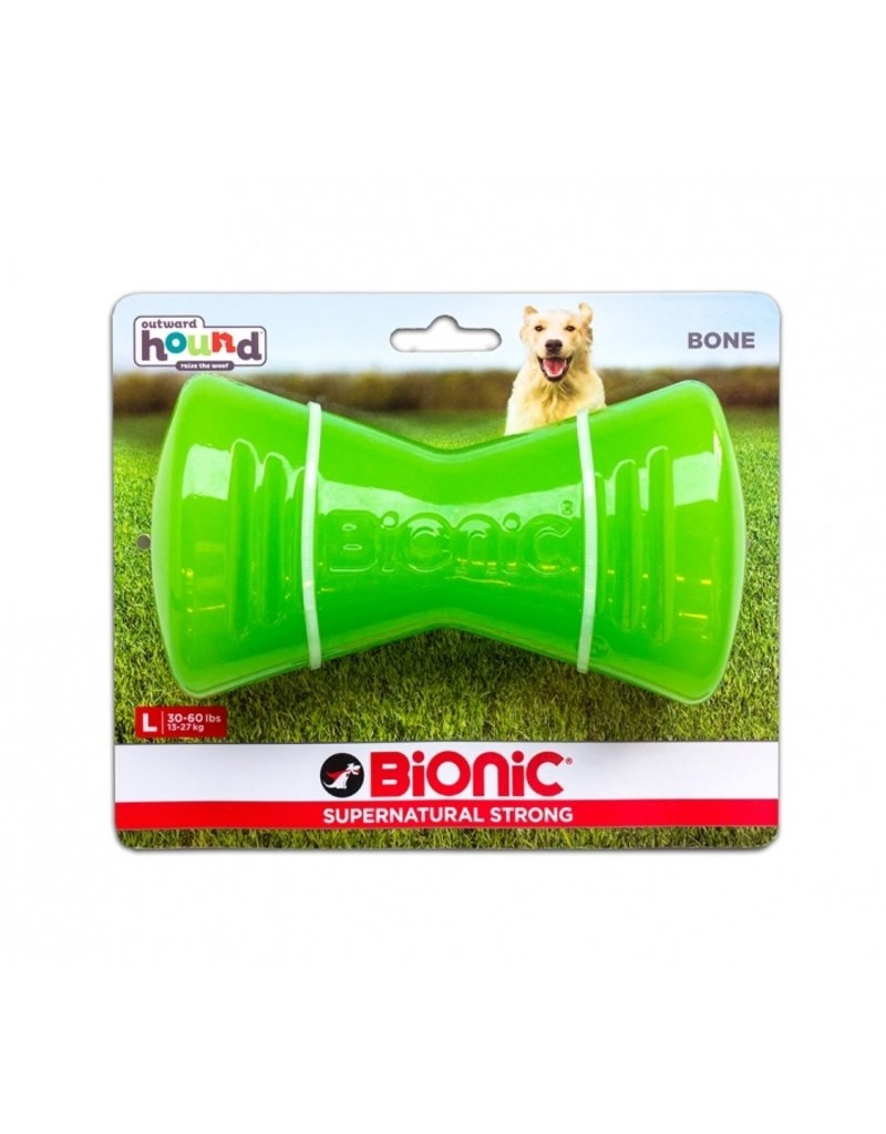 Outward Hound Bionic Bone Large Green