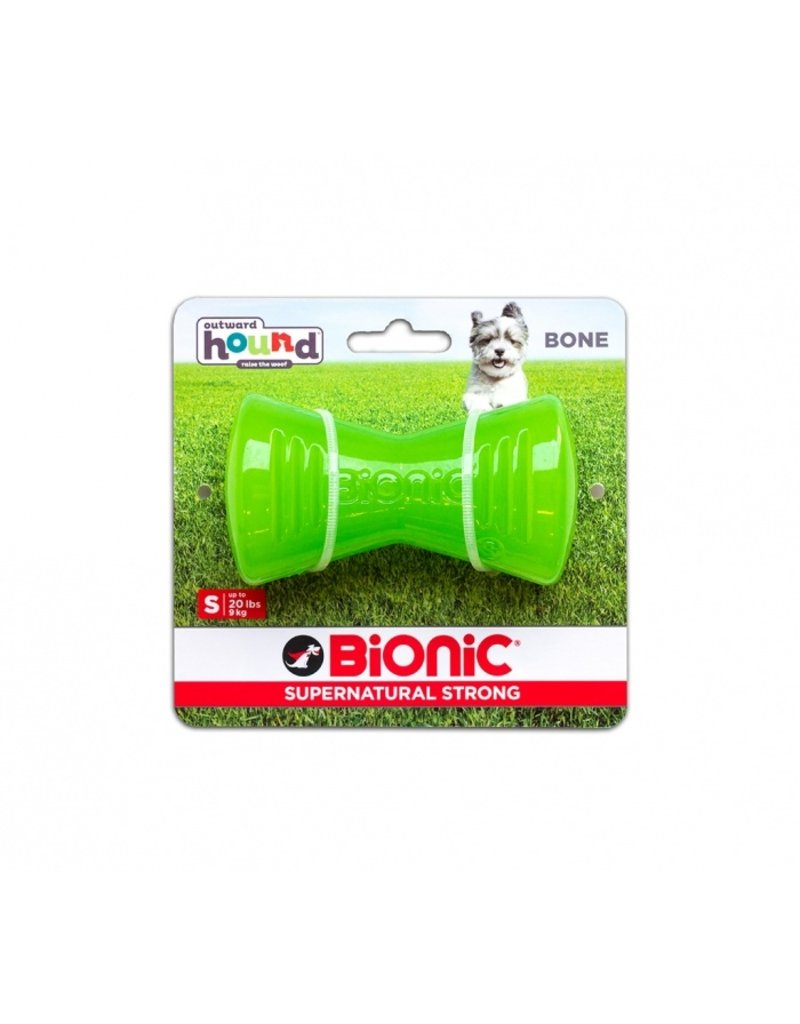 Outward Hound Bionic Bone Medium Green