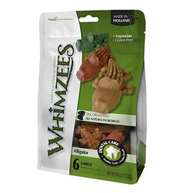 Whimzees Whimzees Dog Treats Alligator Bag Large 12.7 oz