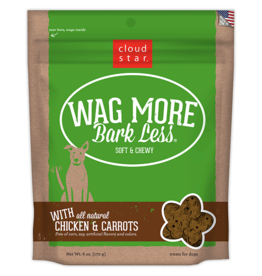 Cloud Star Cloud Star Wag More Bark Less Grain Free Soft Chews  Natural Chicken 20 oz