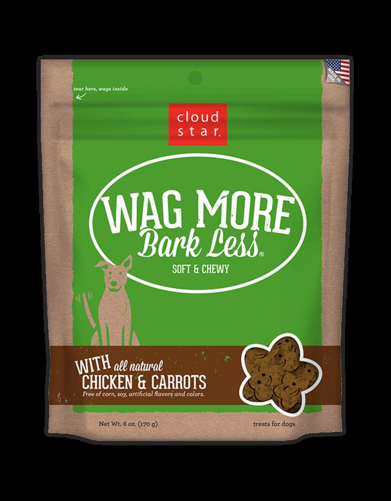Cloud Star Cloud Star Wag More Bark Less Grain Free Soft Chews  Natural Chicken 20 oz