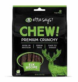 Etta Says Etta Says Chew! Premium Crunchy Dog Treats Elk 4.5 oz