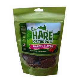 Treat Planet Hare of the Dog Soft Treats  Rabbit Slider with Cranberry 6 oz