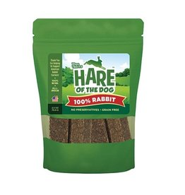 Hare of the Dog Crunchy Treats 100 % Rabbit 2.5 oz