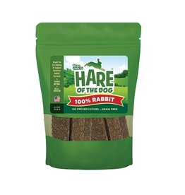 Hare of the Dog Crunchy Treats 100 % Rabbit 2.5 oz