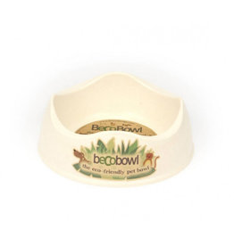 Beco pets Beco Bowl Dog Bowls Natural Small