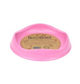 Beco Bowl Cat Bowls  Pink Cat
