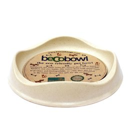 Beco pets Beco Bowl Cat Bowls  Natural Cat
