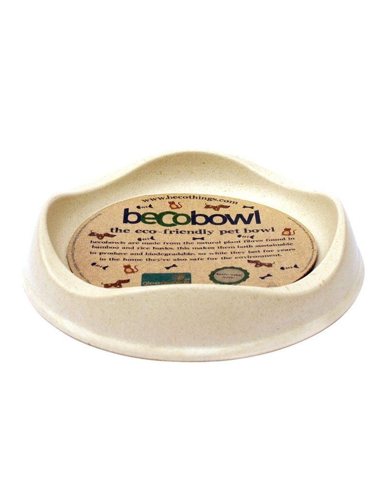 Beco Bowl Cat Bowls  Natural Cat