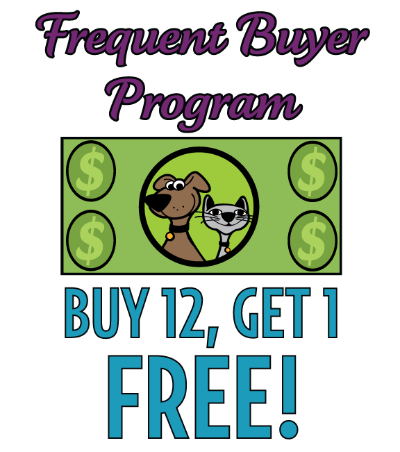 Frequent Buyer Programs for Products at The Pet Beastro
