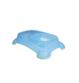 Gardner Pet Feeder Bowl Blue Small