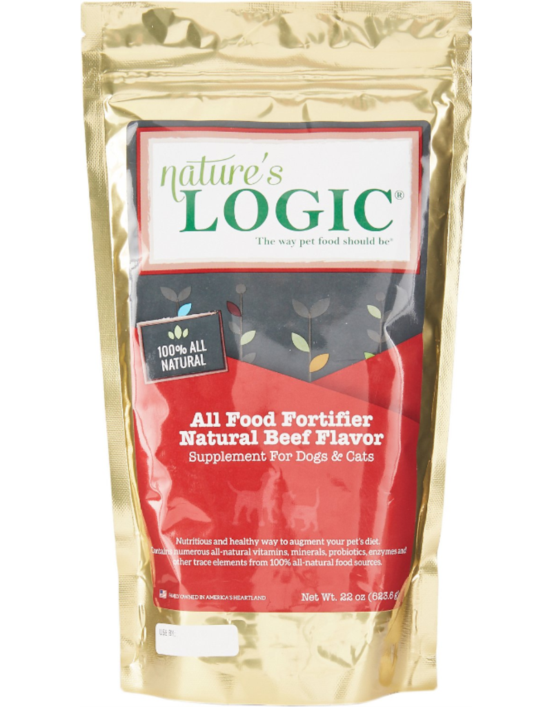 Nature's Logic Nature's Logic Supplements Food Fortifier Beef 22 oz